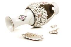 Сломленная ваза Стоковое Фото