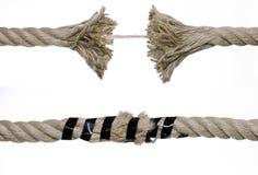 сломленная веревочка Стоковое Фото