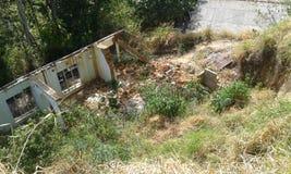 сломленная дом Стоковое фото RF
