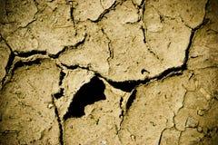 сломленная земля Стоковое фото RF