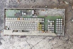 сломленная клавиатура Стоковое Фото