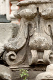 сломленная надгробная плита Стоковое Фото
