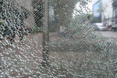 сломленная стеклянная картина Стоковое Фото