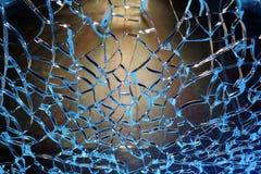 Сломленная стеклянная текстура, абстрактное изображение Стоковая Фотография RF