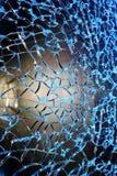 Сломленная стеклянная текстура, абстрактное изображение Стоковое фото RF