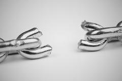 Сломленная цепь Стоковое фото RF