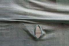 Сломленное предохранение от ткани стоковая фотография rf