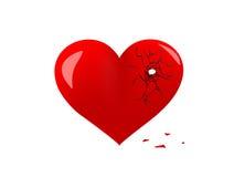 сломленное сердце Стоковая Фотография