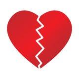 сломленное сердце Стоковое фото RF