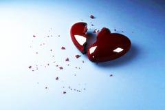 сломленное сердце Стоковое Изображение RF