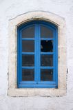 сломленное старое окно Стоковое Изображение
