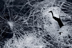 сломленное стекло Стоковое Фото