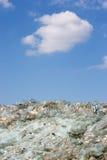 сломленное стеклянное небо вниз Стоковое фото RF