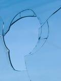 сломленное стеклянное небо Стоковое Фото