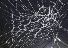 сломленное треская стекло Стоковые Фотографии RF