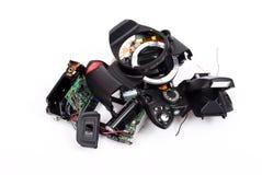 сломленное photocamera стоковая фотография rf