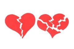 сломленные сердца 2 иллюстрация вектора