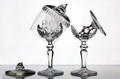 сломленные стекла Стоковые Фотографии RF