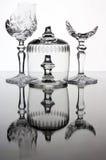 сломленные стекла Стоковое Фото