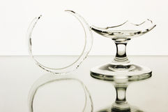сломленные стекла Стоковое фото RF