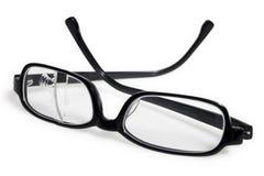 сломленные eyeglasses стоковое изображение rf