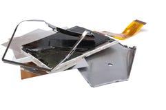 Сломленный дисплей Стоковая Фотография RF