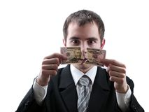 сломленный доллар Стоковое Изображение RF