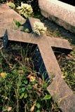 сломленный крест Стоковые Изображения RF