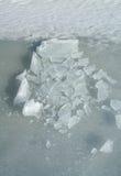 сломленный льдед Стоковое Изображение RF