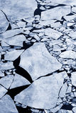 сломленный льдед Стоковые Фотографии RF