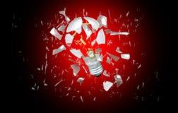 сломленный свет шарика Стоковые Изображения RF