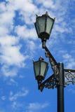 сломленный стеклянный фонарик Стоковые Изображения RF