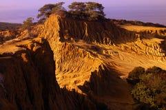 сломленный холм рассвета Стоковые Фотографии RF