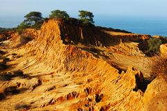сломленный холм Стоковая Фотография