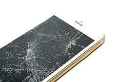 Сломленный экран стоковое фото rf