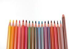 сломленный crayon стоковые изображения rf
