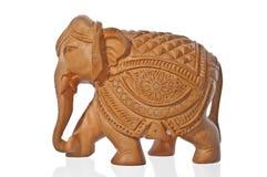 слон деревянный Стоковое Изображение RF