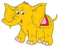 Слон (зажим-искусство вектора) Стоковые Фото