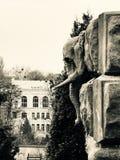 Слон на доме Horodecki в Киеве - Украине - КИЕВЕ или КИЕВЕ стоковое фото