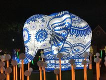 Слон светов Китая стоковое изображение