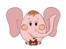 слон смешной Стоковые Фото