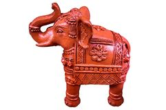 Слон терракоты Стоковые Изображения RF