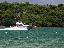 служба береговой охраны бразильянина шлюпки Стоковые Изображения RF