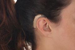 слух помощи Стоковое фото RF
