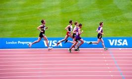 случаи london олимпийский подготовляют испытание Стоковое Изображение