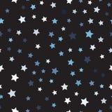 Случайная картина звезды 1866 основали вектор вала постепеновского изображения Чюарлес Даршин безшовный Стоковая Фотография