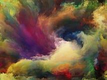 Случайная краска Стоковое Изображение RF