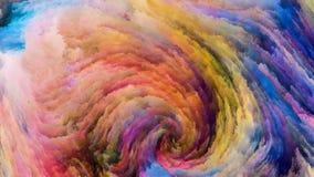 Случайная красочная краска Стоковая Фотография RF
