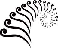Случайная форма вектора Стоковое Изображение