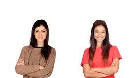Случайные девушки стоковое фото rf